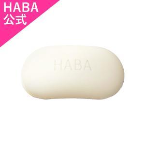 絹泡石けん 80g[ハーバー化粧品]/泡立ち、泡切れ抜群。絹の泡立ちでしっとりと洗い上げます。