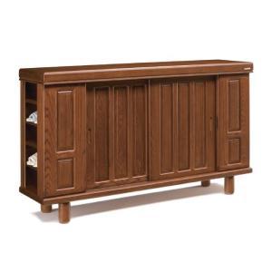 下駄箱  シューズボックス 靴箱 180 日本製 完成品 木製 アッシュ材 無垢 木製棚板 ロータイ...