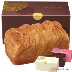 ボローニャ パン デニッシュ 食パン カット 取り寄せ ギフト 贈り物 ブライダル 結婚式 内祝い お返し 出産 誕生日 プレゼント ミルキー 1斤メープル(箱3種)