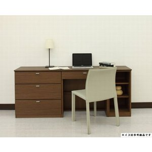 パソコンデスク 175 学習机 i椅子 ワークデスク 机 デスク 木製 おしゃれ|habitz-mall