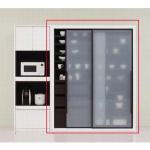 食器棚 完成品 おしゃれ 160 日本製 キッチンボード 大容量 キッチン収納 開梱設置送料無料 日本一の家具産地大川の家具 大川家具|habitz-mall