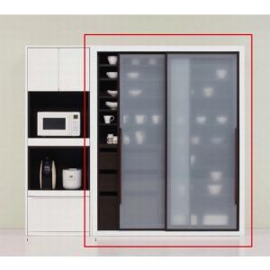 食器棚 完成品 おしゃれ 140 日本製 キッチンボード 大容量 キッチン収納 開梱設置送料無料 日本一の家具産地大川の家具 大川家具|habitz-mall