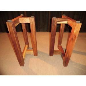 モンキーポッド 木製脚 脚 ダイニング用脚 テーブル用脚 パーツ DIY B-21