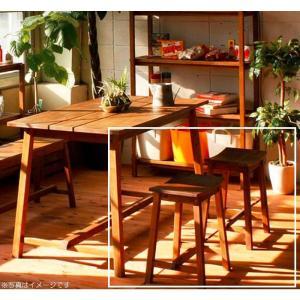 スツール おしゃれ 無垢 天然木マホガニー材 木製 イス 一人用 椅子 W365×D245×H465(SH450) 組立品 送料無料|habitz-mall