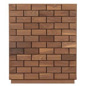 チェスト  4段 幅0 完成品 日本製 木製 無垢 ウォールナット おしゃれ リビング収納 ローチェ...