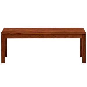 ベンチチェア 120 日本製 完成品 無垢 ブラックチェリー / ウォールナット / オーク 送料無料 椅子 ベンチ 長椅子 リビングチェア おしゃれ 木製 大川家具|habitz-mall