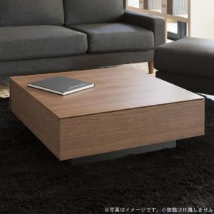 リビングテーブル80 ホワイト おしゃれ センターテーブル ソファーテーブル 引き出し 収納 幅80 完成品 白|habitz-mall