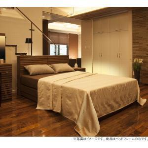 ダブルベッド すのこベッド 140引き出し付き  収納付き フレーム ヘッドボード付き コンセント付き 開梱設置組立て送料無料|habitz-mall