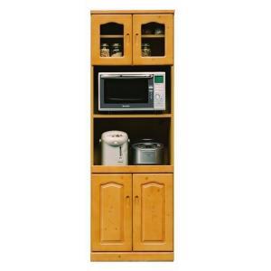 食器棚 60 レンジ台 キッチンボード スリム おしゃれ 完成品 キッチン収納|habitz-mall