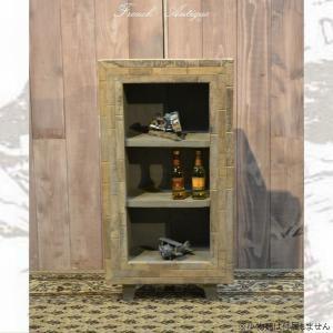 ラック オープンシェルフ 収納棚  W345×D160×H670mm  アンティーク カントリー 家具 雑貨 収納 木製 棚 3段 調 オープン フリーラック ディスプレ|habitz-mall