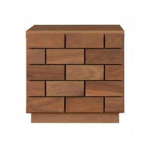 リビングボード チェスト ローチェスト 40 2段 ミニ 完成品 木製 おしゃれ リビング収納 日本製 日本一の家具産地大川の家具 大川家具 送料無料|habitz-mall