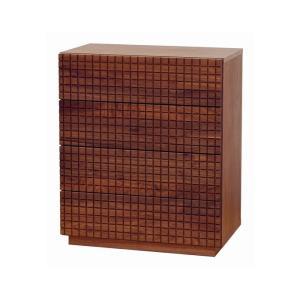 0 ショコラ 70チェスト 前板に無垢材使用 7素材から選べる チェスト リビング収納|habitz-mall