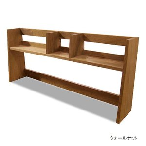 ブックスタンド 卓上本棚 デスクシェルフ 105 日本製 完成品 無垢 天然木 仕上げが選べる デスク収納 フリーシェルフ 木製 送料無料|habitz-mall