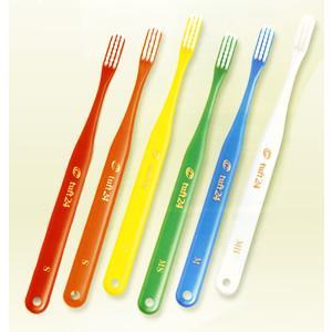 オーラルケア 歯ブラシ タフト24(一般成人用3列歯ブラシ) 単色25本セット|haburashiya