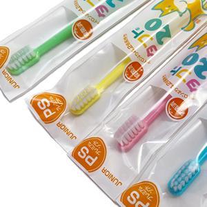 【メール便OK】オーラルケア 歯ブラシ タフト20(混合歯列期用(6〜12歳)歯ブラシ) プレミアムソフト(PS) 単色10本セット|haburashiya