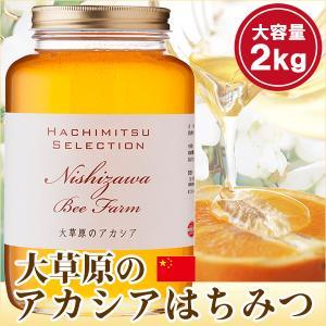 はちみつ 蜂蜜 ハチミツ 大草原のアカシアの花のはちみつ2kg 中国産 hachibeikan