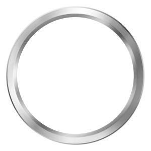 ZEROO ゼロ  交換用 ベゼル シルバー [B01]|hachigoten