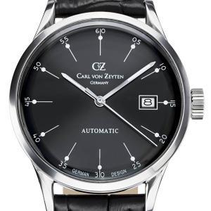 Carl von Zeyten カール・フォン・ツォイテン 自動巻き(手巻き機能あり) 腕時計 [CvZ0002BK] 正規品   デイト|hachigoten