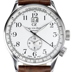 Carl von Zeyten カール・フォン・ツォイテン 電池式クォーツ 腕時計 [CvZ0006SL] 正規品   デイト  GMT(ワールドタイム)|hachigoten