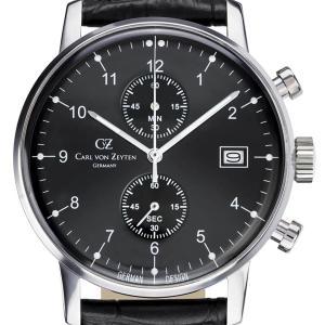 Carl von Zeyten カール・フォン・ツォイテン 電池式クォーツ 腕時計 [CvZ0007BK] 正規品   クロノグラフ|hachigoten