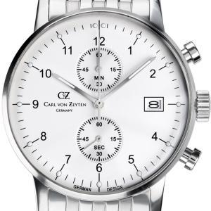 Carl von Zeyten カール・フォン・ツォイテン 電池式クォーツ 腕時計 [CvZ0007WHMB] 正規品   クロノグラフ|hachigoten