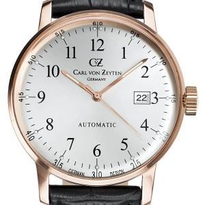 Carl von Zeyten カール・フォン・ツォイテン 自動巻き(手巻き機能あり) 腕時計 [CvZ0009RWH] 正規品   デイト|hachigoten