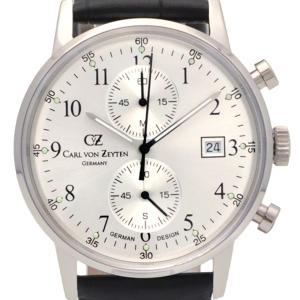 Carl von Zeyten カール・フォン・ツォイテン 電池式クォーツ 腕時計 [CvZ0012SL] 正規品   デイト  クロノグラフ|hachigoten