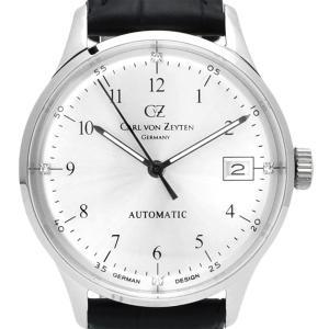 【残り1点】Carl von Zeyten カール・フォン・ツォイテン 自動巻き(手巻き機能あり) 腕時計 [CvZ0016SL] 正規品   デイト|hachigoten