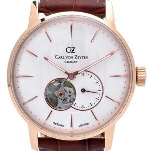 Carl von Zeyten カール・フォン・ツォイテン 自動巻き(手巻き機能あり) 腕時計 [CvZ0022RWH] 正規品 hachigoten
