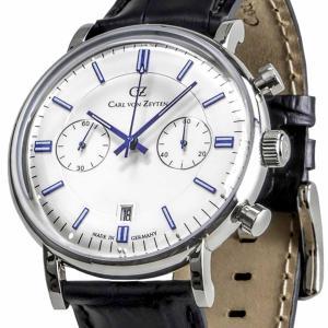 Carl von Zeyten カール・フォン・ツォイテン 電池式クォーツ 腕時計 [CVZ0037WH] 並行輸入品   デイト  クロノグラフ|hachigoten