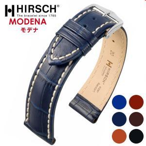 HIRSCH ヒルシュ MODENA モデナ 腕時計用 レザーベルト サイズ:E18 E19 E20 E22 E24|hachigoten