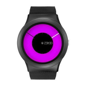ZEROO ゼロ MAGIA AURORA 電池式クォーツ 腕時計 [W11025B03SM03] ピンク デザインウォッチ おしゃれ時計|hachigoten