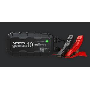 日本正規品【NOCO/ノコ】genius G10 JP ●ジーニアス スマートバッテリーチャージャー ●6V&12V 10A バッテリー充電器 日本仕様モデル|hachikko-bu-bu