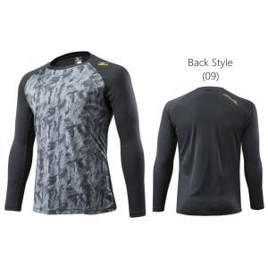 ミズノ Mizuno Pro デザインロングTシャツ 長袖 限定品 12JA5S80|hachimorisports