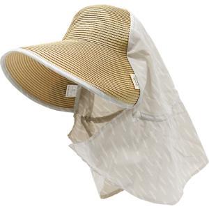 ガーデニング ハット レディース 虫除け uv 帽子 おしゃれ 服装 夏 日よけ つば広 UV hachipro