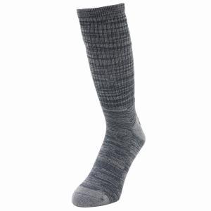 着る消臭元  靴下 メンズ 冬 底パイルソックス 作業用靴下 先丸クルー 2足組 hachipro