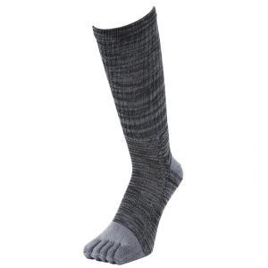 着る消臭元 底パイルソックス メンズ 作業用靴下 5本指クルー 2足組 hachipro