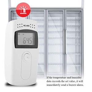 RC-4HCミニ温湿度データロガー 温度データーロガー LCD表示 16000ポイント 簡単に温度を...