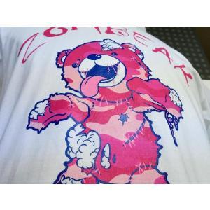 ゾンベアーグッズ ゾンベアーTシャツ 迷彩ピンク ホワイトご当地 北海道限定|haciendaiyashi