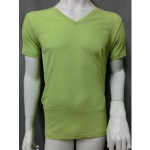 汗をかいても、サラサラ快適!吸水速乾 半袖V首 Tシャツ