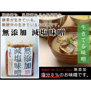 減塩調味料 減塩食品 無添加減塩味噌 750g |hadaplan