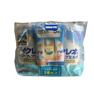 グリコアイクレオ フォローアップミルク 820g×2缶 9ヶ月〜 コストコ カークランド