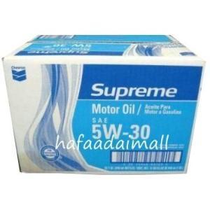 送料無料 シェブロン エンジンオイル 5W-30 シュプリーム モーターオイル Chevron Supreme oil コストコ カークランド