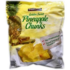 コストコ カークランド パイナップル チャンクス 冷凍フルーツ 1.81kg