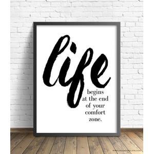 【ネコポス送料無料】THE LOVE SHOP | LIFE BEGINS | A4 アートプリント/ポスター|hafen