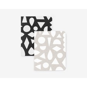 WORTHWHILE PAPER | MODERN SHAPES NOTEBOOKS SET | ノートブック|hafen