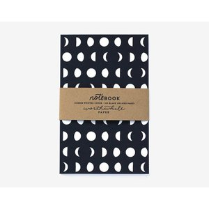 WORTHWHILE PAPER | MOON PATTERN NOTEBOOKS SET | ノートブック|hafen