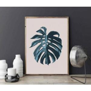 LOVELY POSTERS | MONSTERA LEAF | A3 アートプリント/ポスター|hafen
