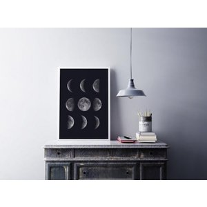 LOVELY POSTERS | MOON PHASES | A3 アートプリント/ポスター|hafen