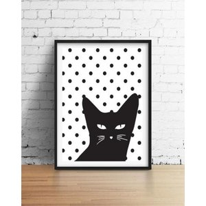 LOVELY POSTERS | CAT POSTER | A3 アートプリント/ポスター|hafen